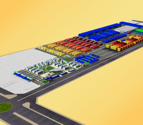 Traffic Impact Study for Logistics Village, Al Wukair