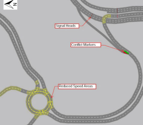 Traffic Modelling for North Canal Crossing, Doha