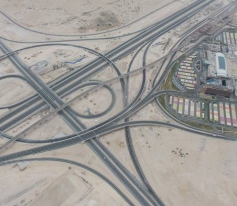 Road Safety Audit for Rawdat Rashed Interchange, Dukhan Expressway