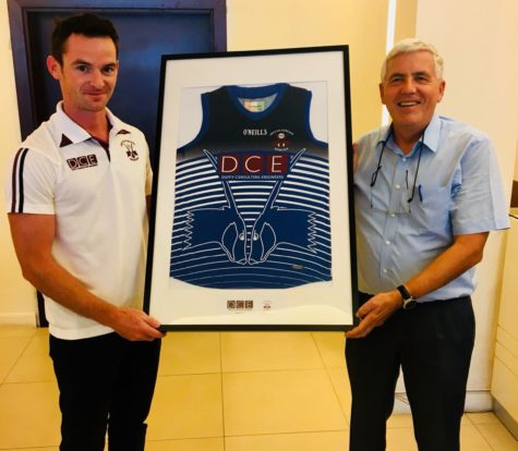 DCE recognised for supporting QATAR GAA