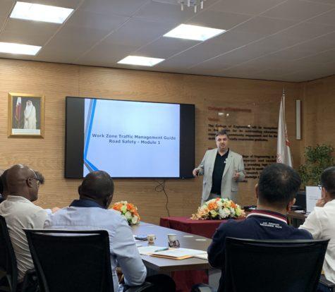 Road Safety seminar at Qatar University