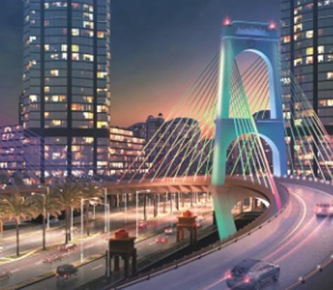 Traffic Diversion Plan for Gewan Island Bridge Installation