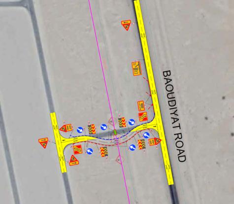 Traffic Diversion Plan Design for D-Line TSE PS & Transmission Main